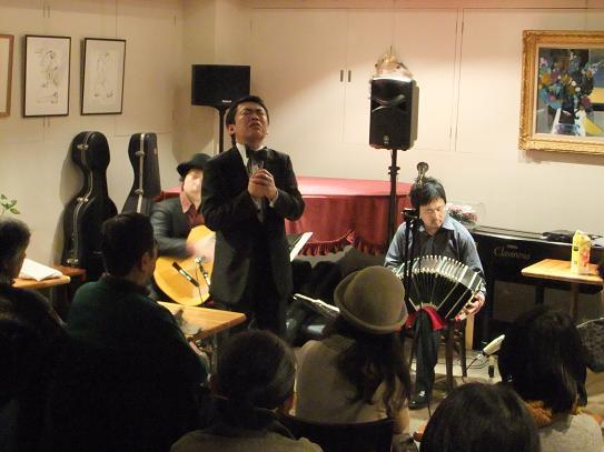 2014/2/21 ロベルト・杉浦&タンゴ・グレリオ(大阪)